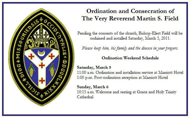 Bishop Consecration Invitation with best invitation sample