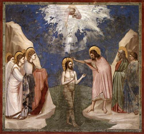 The Baptism of Christ (Giotto)